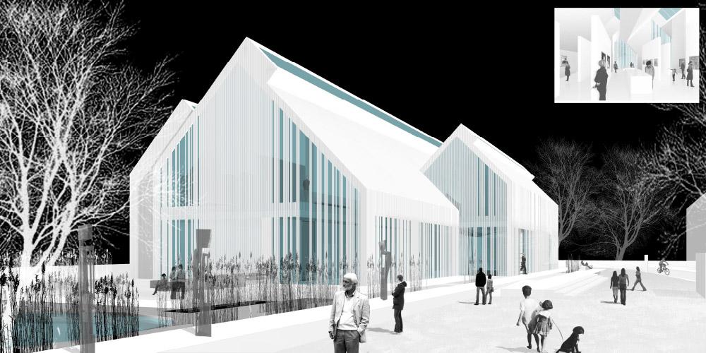 Wettbewerb Kunstmuseum Ahrenshoop