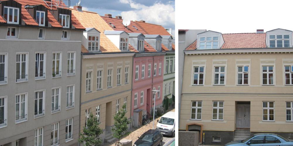 Sanierung eines historischen Mehrfamilienhauses in Greifswald