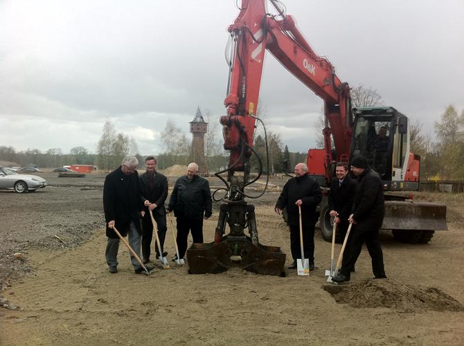 Baubeginn Zernsdorf